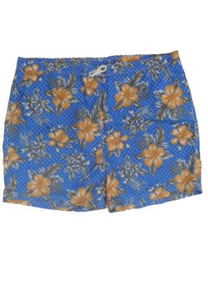 Baileys zwemsbroek grote maat blauwe bloem print