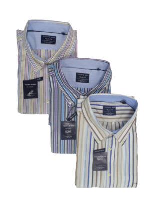 Aanbieding Today's man overhemden met korte mouw 3 stuks