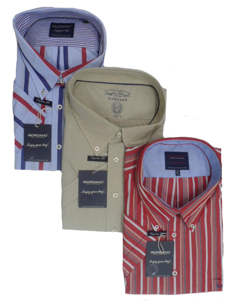 Aanbieding grote maten overhemden Giordano