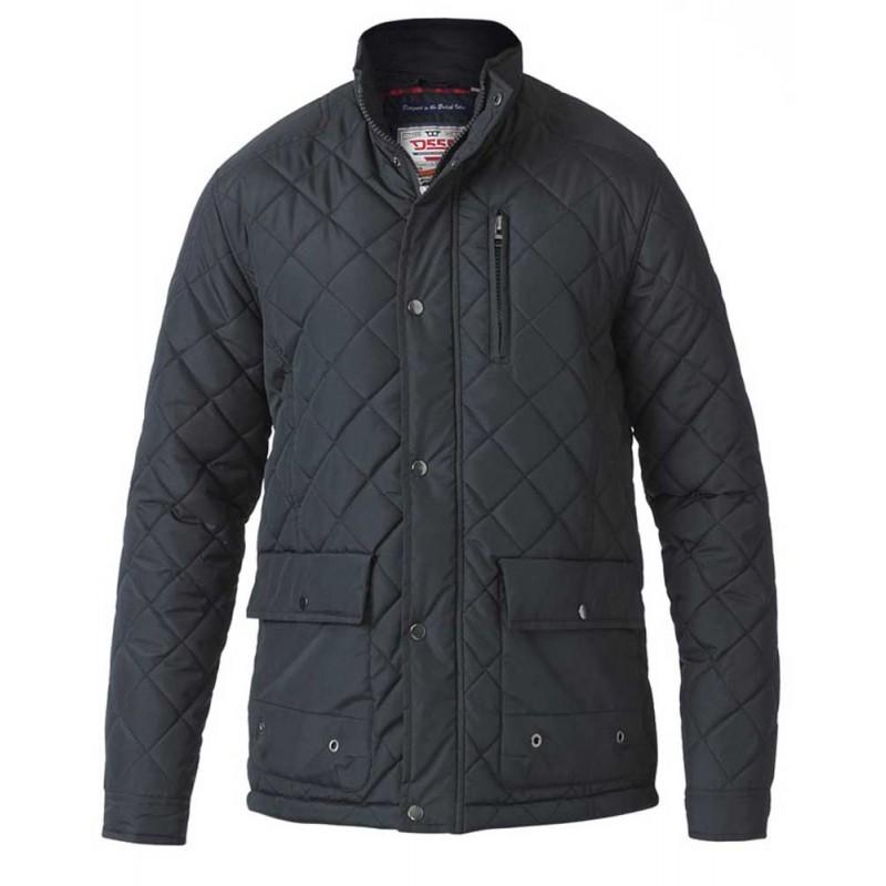 D555 grote maat winter jack zwart 7XL 8XL