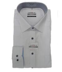 Marvelis grote maat overhemd lange mouw wit strijkvrij