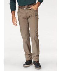 Pionier grote maat casual stretch jeans donkerbeige model Peter. Deze jeans is exclusief riem. De kwaliteit is 98%katoen en 2%elastan.