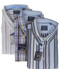 SALE Today's man 3 stuks overhemden met korte mouw