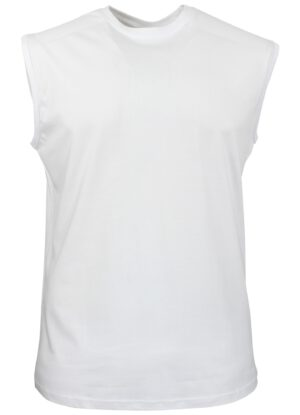 Redfield grote maat mouwloos t-shirt wit