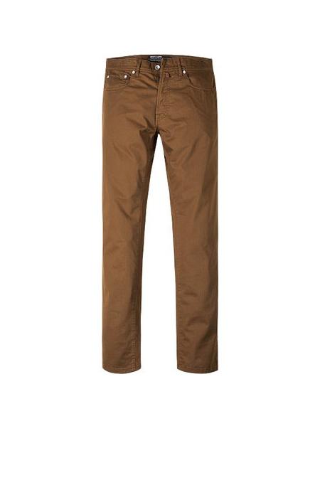 Pierre Cardin 5 pocket lengte maat jeans stretch bruin