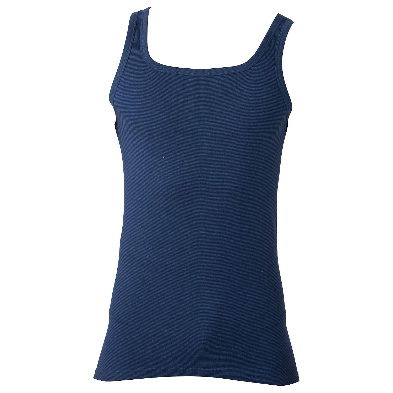 grote maat onderhemd blauw Adamo