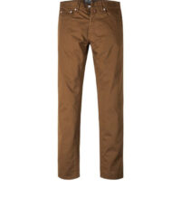 Pierre Cardin grote maat 5 pocket jeans stretch bruin.