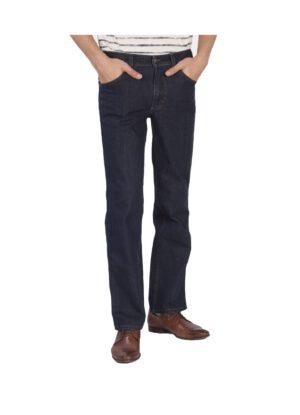 Lengte maat Mustang jeans dark stonewashed stretch model Tramper