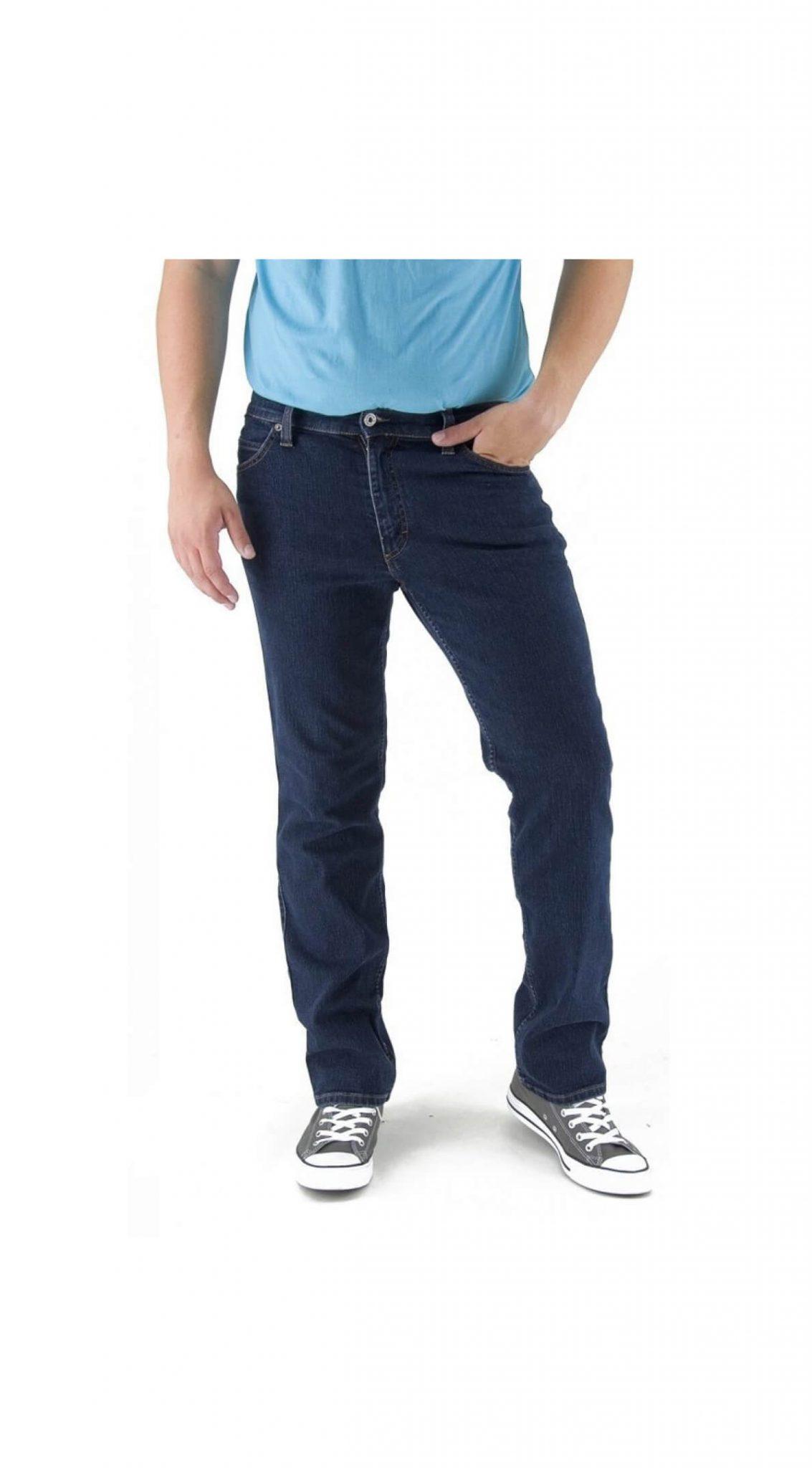 Grote maat Mustang jeans Tramper dark stonewashed