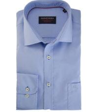 Casa Moda overhemd extra lange mouw blauw
