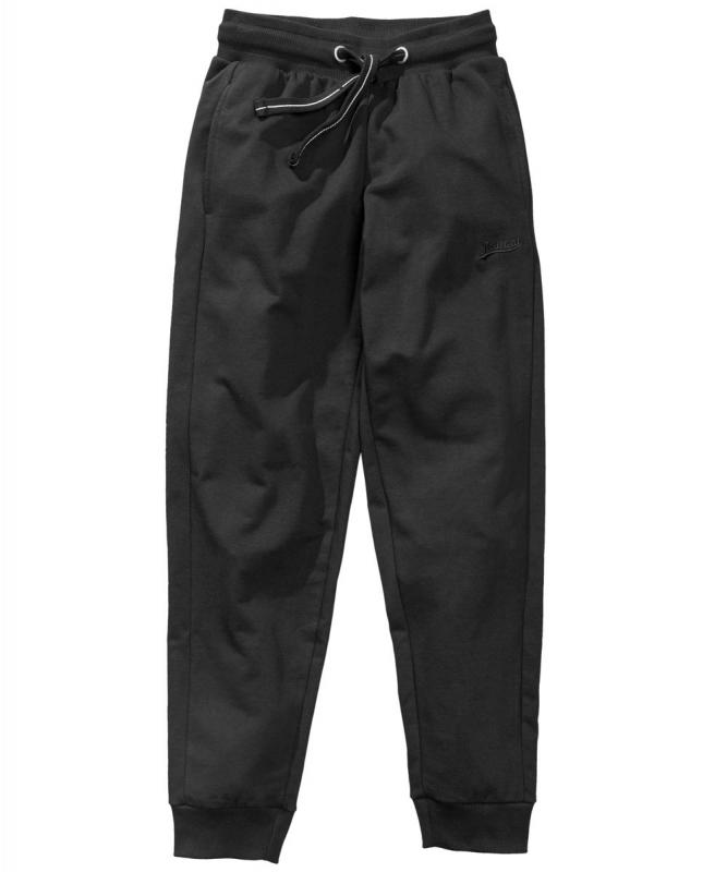 Redfield grote maat Joggingbroek zwart met boord