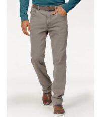Pionier grote maat jeans Peter grijs