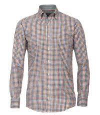 Casa Moda overhemd 72cm extra lange mouw meerkleurig ruitje