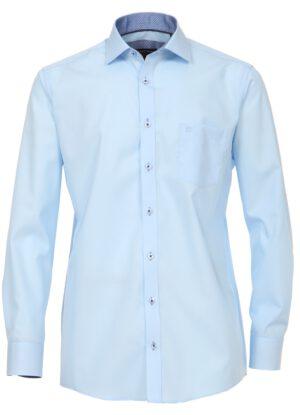 Overhemd Casa Moda 72cm extra lange mouw blauw strijkvrij