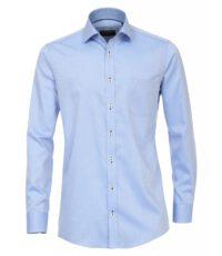 Casa Moda overhemd extra lange mouw 72cm lichtblauw werkje