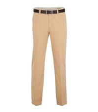 M.E.N.S. grote maat stretch casual chino broek beige model Madrid-U
