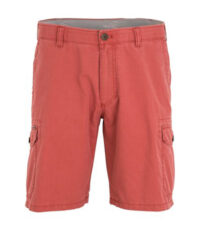 M.E.N.S. grote maat stretch korte broek borneo rood