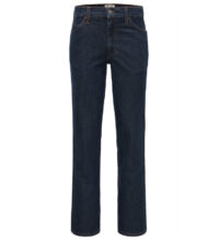 Mustang lengte maat stretch jeans dark stonewashed model Tramper