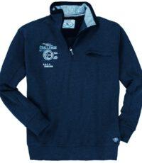 Redfield grote maat sweater donkerblauw Atlantic Sailing Challenge