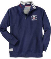 Redfield grote maat sweater donkerblauw Green Pine Resort