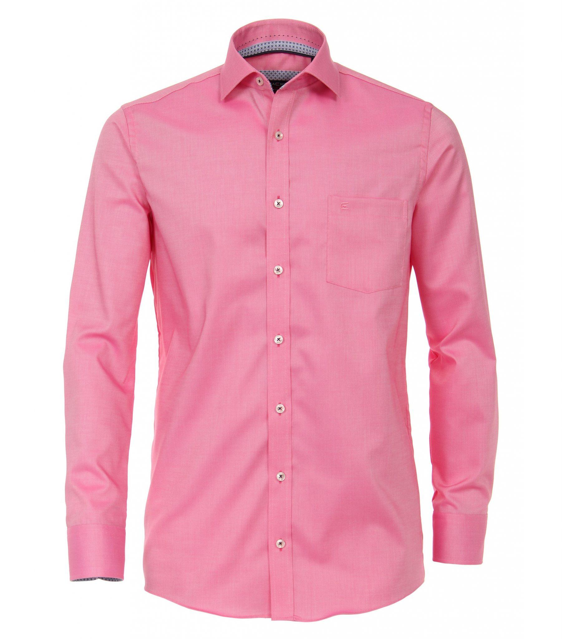 Overhemd Extra Mouwlengte.Casa Moda Overhemd Extra Lange Mouw Mouwlengte7 Roze Strijkvrij