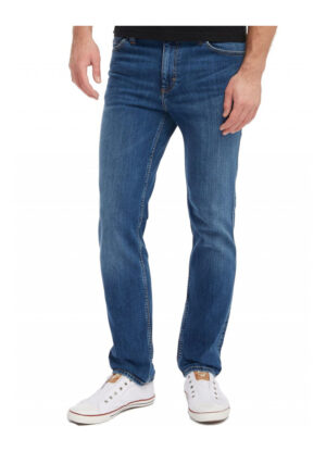 Mustang grote maat stretch jeans stonewashed model Washington