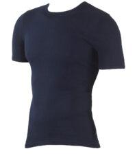 Kapart grote maat heren onderhemd korte mouw donkerblauw