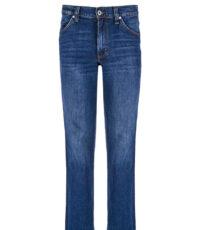 Mustang lengte maat jeans stretch dark stonewashed model Tramper