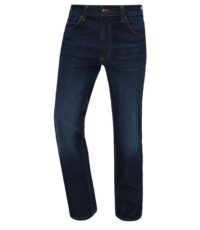 Mustang grote maat stretch jeans dark washing model Tramper