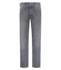 Pionier 40inch lengtemaat stretch jeans comfort flexx grijs stonewashed