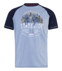 D555 t-shirt grote maat blauw New York City