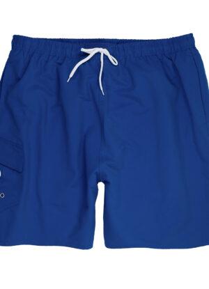 Adamo grote maat zwemshort blauw