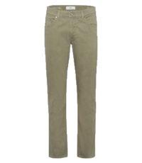 Pierre Cardin 5 pocket casual lengte maat stretch jeans olijfgroen