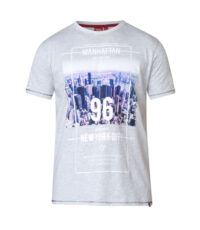 D555 t-shirt grote maat off white Manhattan