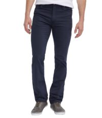 Mustang grote maat stretch jeans donkerblauw model Tramper