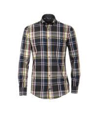 Casa Moda overhemd extra lange mouw 72cm meerkleurige ruit