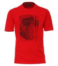 Casa Moda t-shirt grote maat rood soak up the sun