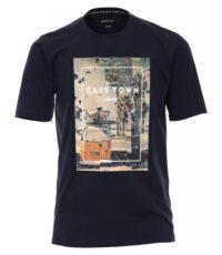 Casa Moda t-shirt grote maat blauw Cape Town