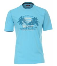 Casa Moda t-shirt grote maat lichtblauw soak up the sun