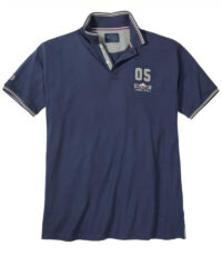 Redfield grote maat poloshirt donkerblauw Club Athletic