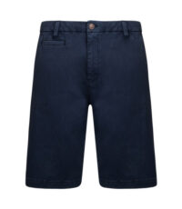 Kam grote maat korte broek donkerblauw