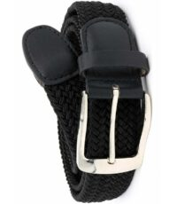 D555 extra lange grote maat stretch riem zwart