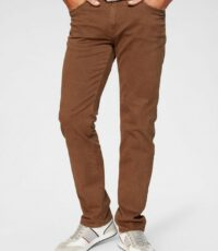 Pionier grote maat stretch jeans camel model Thomas