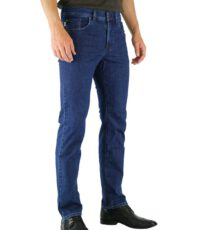 Pionier grote maat stretch jeans blauw model Thomas