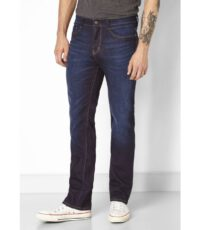 Paddock's grote maat stretch jeans darkblue moustache
