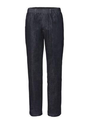 Luigi Morini grote maat jeans met elastische band antracietgrijs
