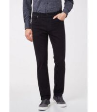 Pioneer grote maat stretch jeans zwart model Thomas