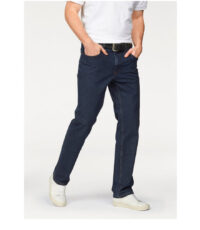 Pioneer grote maat stretch jeans donkerblauw model Thomas