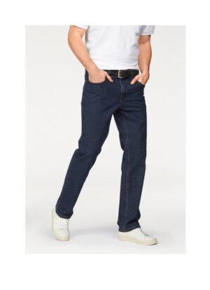Pioneer grote maat stretch jeans donkerblauw model Thomas