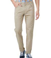 Pioneer lengte maat stretch jeans lichtbeige